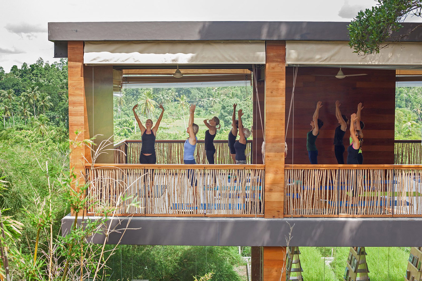 Tri Yoga Shala Class . Lara Baumann