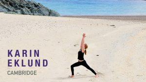 Karin Eklund Yoga Teacher Cambridge