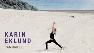 Karin Eklund Yoga Teacher Cambridge