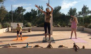Yoga Monkey Dance