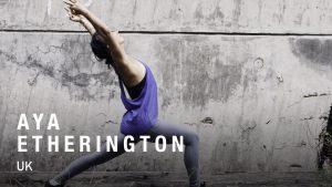Aya Etherington Yoga Teacher