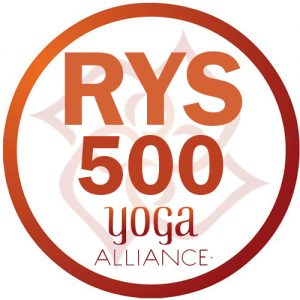 Yoga Alliance RYS 500 Logo